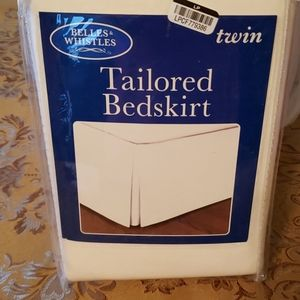 Tailored Twin Size Bedskirt